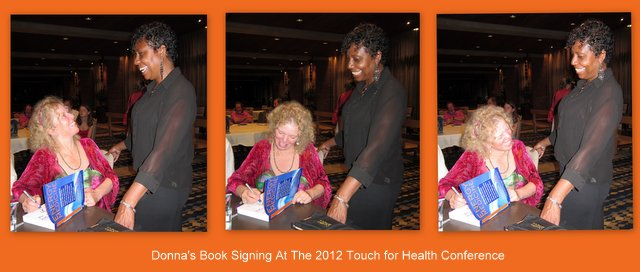 Donna Signing Books