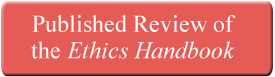 Ethics Handbook Review