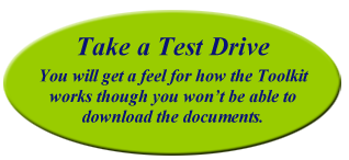 Test Drive the Toolkit